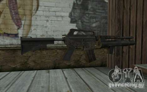 CAR-15 with XM-148 from Battlefield: Vietnam для GTA San Andreas