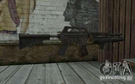 CAR-15 with XM-148 from Battlefield: Vietnam для GTA San Andreas второй скриншот
