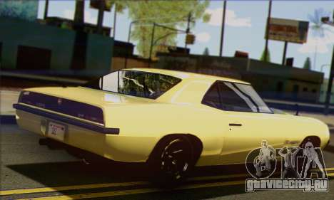 Declasse Vigero V1.1 для GTA San Andreas вид слева