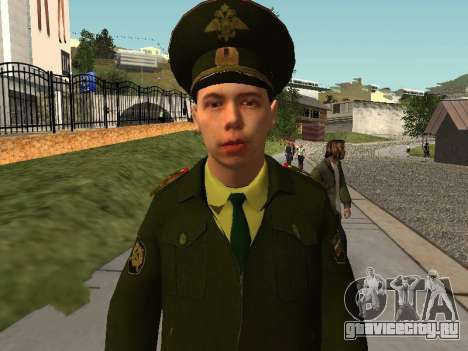 Прапорщик Соколов для GTA San Andreas второй скриншот
