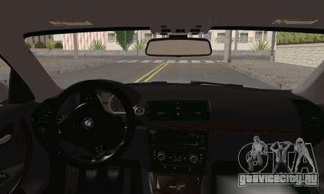 BMW 135i 2009 для GTA San Andreas вид сзади слева