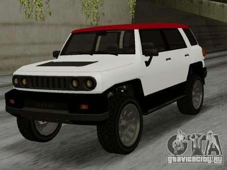 Karin BJ XL для GTA San Andreas