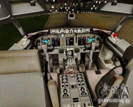 Boeing 737-838 Qantas (Old Colors) для GTA San Andreas салон
