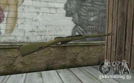 Винтовка Мосина v7 для GTA San Andreas второй скриншот