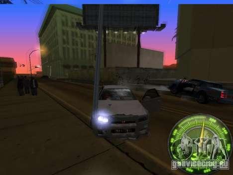 Спидометр HITMAN для GTA San Andreas седьмой скриншот