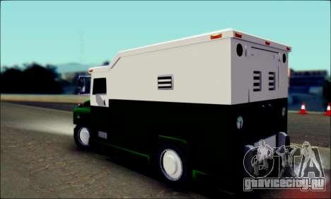 Shubert Armored Van from Mafia 2 для GTA San Andreas вид слева