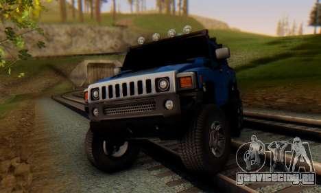 Hummer H6 Sut Pickup для GTA San Andreas вид слева