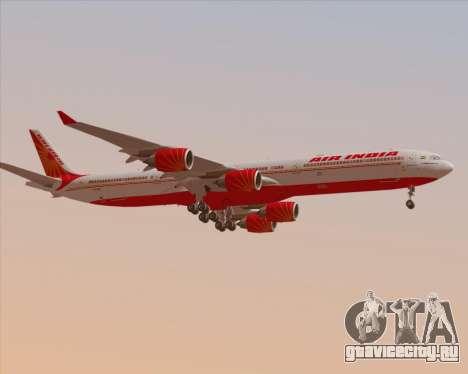 Airbus A340-600 Air India для GTA San Andreas колёса