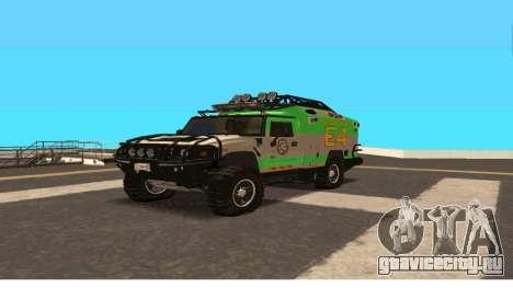 Hummer H2 Ratchet Transformers 4 для GTA San Andreas