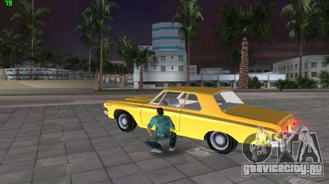 Dodge 330 Max Wedge Ramcharger 1963 для GTA Vice City вид сзади слева