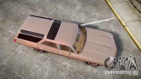 Oldsmobile Vista Cruiser 1972 Rims1 Tree4 для GTA 4 вид справа