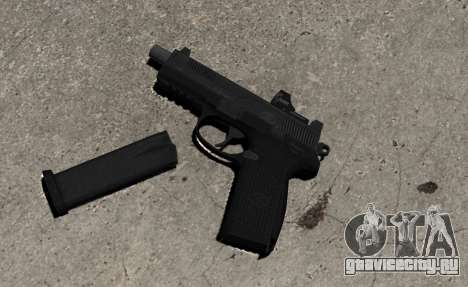 Пистолет FNP-45 для GTA 4
