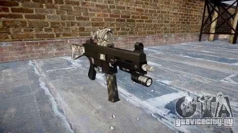 Пистолет-пулемёт UMP45 Carbon Fiber для GTA 4