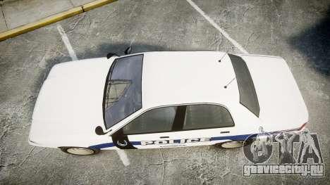 GTA V Vapid Cruiser LP [ELS] Slicktop для GTA 4 вид справа