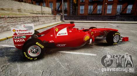 Ferrari 150 Italia Track Testing для GTA 4 вид слева