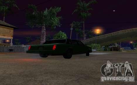 Tahoma Restyle для GTA San Andreas вид сзади