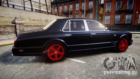 Bentley Arnage T 2005 Rims4 для GTA 4 вид слева