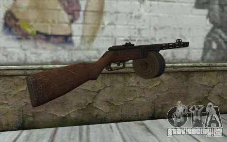 PPSH-41 v1 для GTA San Andreas второй скриншот