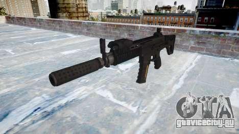 Автомат LK-05 Silencer icon2 для GTA 4