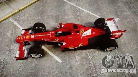 Ferrari F138 v2.0 [RIV] Alonso TMD для GTA 4 вид справа