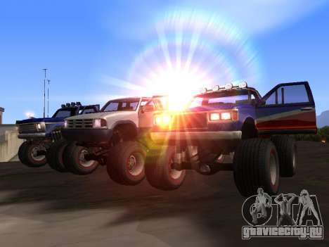 Новые текстуры Monster для GTA San Andreas для GTA San Andreas