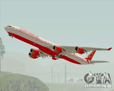 Airbus A340-600 Air India для GTA San Andreas вид сбоку