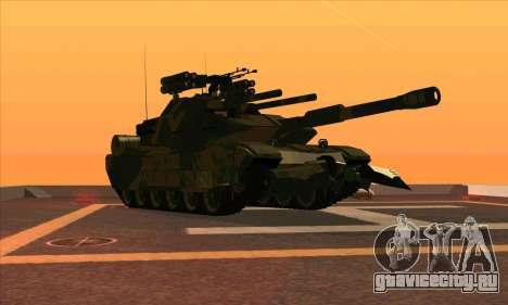 M1A1 Abrams Brawl (Transformers) для GTA San Andreas вид слева