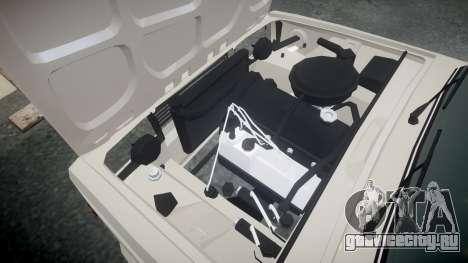 ВАЗ-2105 хулиганский стиль для GTA 4 вид изнутри