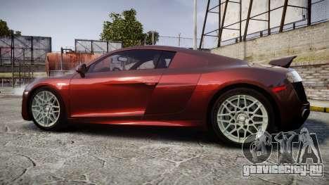 Audi R8 2010 Rotiform BLQ для GTA 4 вид слева