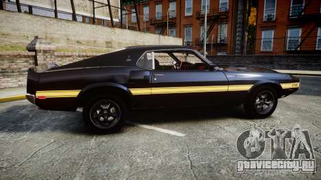 Shelby GT500 428CJ CobraJet 1969 для GTA 4 вид слева