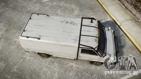Kessler Stowaway Rusty для GTA 4 вид справа