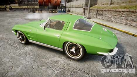 Chevrolet Corvette Stingray 1963 для GTA 4 вид слева