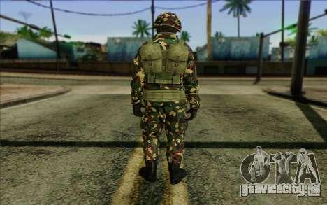 The Expendables 2 Enemy для GTA San Andreas второй скриншот