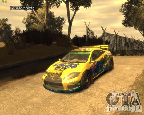 Mitsubishi Eclipse GT Rallycross для GTA 4