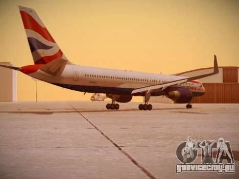 Boeing 757-236 British Airways для GTA San Andreas вид справа