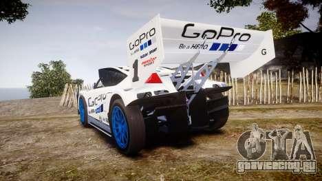 Suzuki Monster Sport SX4 2011 для GTA 4 вид сзади слева
