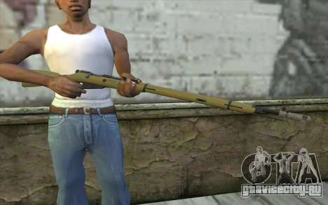 Винтовка Мосина v7 для GTA San Andreas третий скриншот