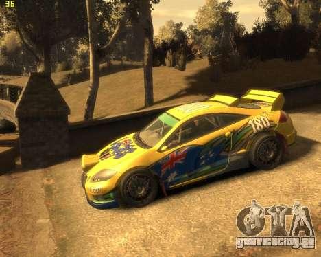 Mitsubishi Eclipse GT Rallycross для GTA 4 вид справа