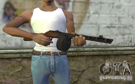 PPSH-41 v1 для GTA San Andreas третий скриншот