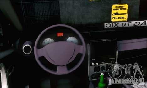 Dacia Sandero XIC для GTA San Andreas вид справа