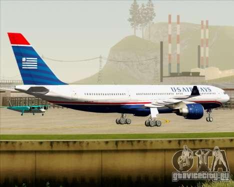 Airbus A330-200 US Airways для GTA San Andreas вид сзади