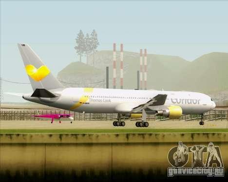 Boeing 767-330ER Condor для GTA San Andreas вид сверху