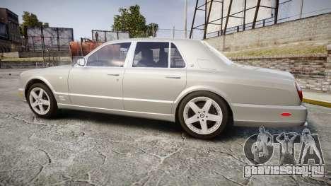 Bentley Arnage T 2005 Rims3 для GTA 4 вид слева