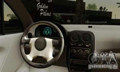 Daewoo Matiz Tuned для GTA San Andreas вид сзади слева