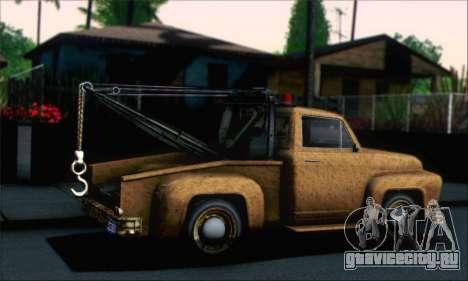 GTA 5 Towtruck Worn для GTA San Andreas вид слева