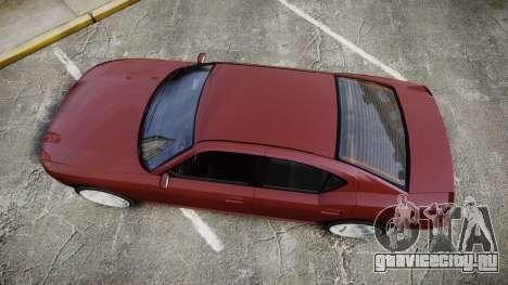 Bravado Buffalo SRT для GTA 4 вид справа