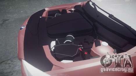 BMW 530d F11 для GTA 4 вид сбоку