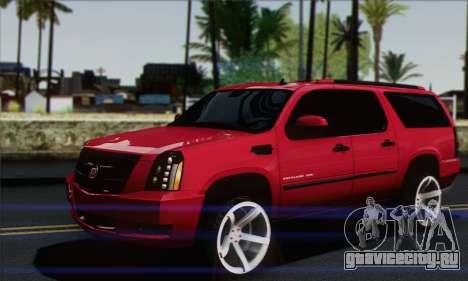 Cadillac Escalade ESV для GTA San Andreas