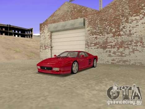 Ferrari 512TR для GTA San Andreas