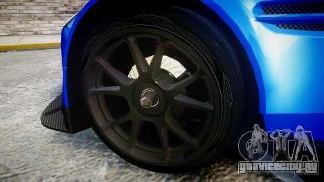 Aston Martin Vantage GTE Nico Yazawa для GTA 4 вид сзади